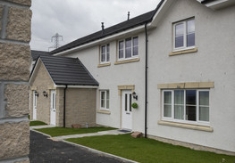 Westhill image of front of 1 and 2 bed flats