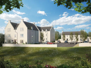 Castle Court and Castle Meadows, Ellon, all proeprties are currently let